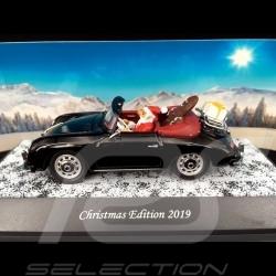 Porsche 356 Cabriolet Christmas Edition 2019 Black 1/43 Schuco 450268700