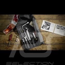 Trousse à outils Porsche Classic pour 911 F pied de poule pepita / cuir Tool kit
