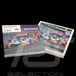 Porsche Advent calendar 911 type 991 GT3 R n° 69 Iron Force 1/43 CMR CMRGTADVENT