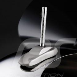 Porsche Design Shake Pen Chrom 2020 Kugelschreiber 911 Skulptur als Halter