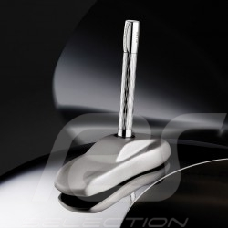 Porsche Design Shake Pen Chrome 2020 ballpoint Pen 911 sculpture as holder