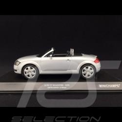 Audi TT Roadster 1999 gris argenté 1/18 Minichamps 155017031 silver grey silbergrau
