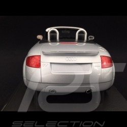 Audi TT Roadster 1999 silver grey 1/18 Minichamps 155017031