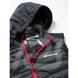 Mercedes AMG quilted sleeveless jacket Selenite grey Mercedes-Benz B66958533 - homme