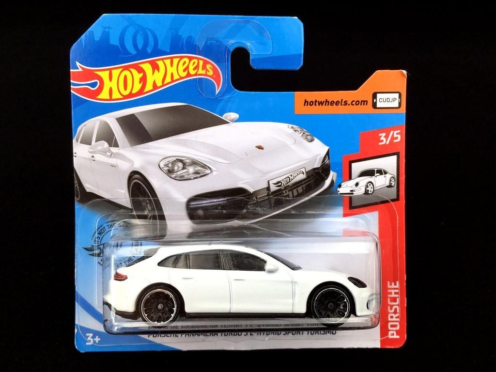 Porsche Panamera Turbo S E Hybrid Sport Turismo White 1 72 Hot Wheels Selection Rs
