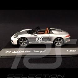 Porsche 911 type 991 Speedster Concept I Heritage Design 2018 1/43 Spark WAX02020094