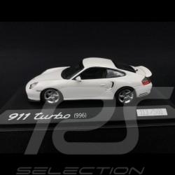 Porsche 996 Turbo white 1/43 Minichamps WAP0205050AVKK