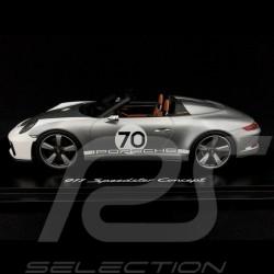 Porsche 911 type 991 Speedster Concept I Heritage Design 2018 1/18 Spark WAX02100044