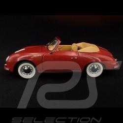Porsche 356 A Carrera Cabriolet rouge rubis 1/18 Schuco 450031600