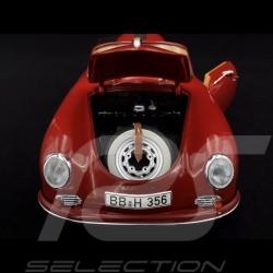 Porsche 356 A Carrera Cabriolet ruby red 1/18 Schuco 450031600