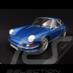 Porsche 911 2.4S Coupé 1973 Gemini blue 1/18 Norev 187641