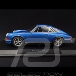 Porsche 911 2.4S Coupé 1973 bleu blue blau Gemini 1/18 Norev 187641