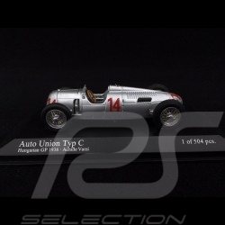 Auto Union Typ C GP Hungary 1936 n° 14 1/43 Minichamps 400360014
