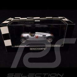Auto Union Type C GP Hungary 1936 n° 14 1/43 Minichamps 400360014