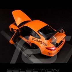 Porsche 911 type 997 GT3 RS 3.8 Mk II 2009 Orange 1/18 Norev 187562