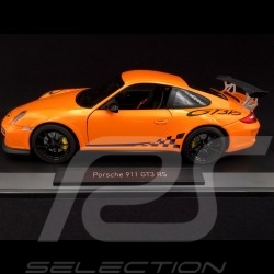 Porsche 911 type 997 GT3 RS 3.8 Ph II 2009 Orange 1/18 Norev 187562
