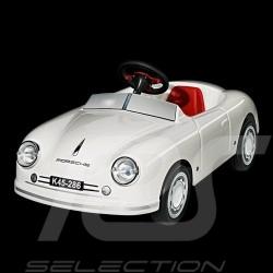 Porsche 356 Cabriolet Batterie-auto für Kinder Weiß Porsche Design WAP0402000B