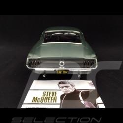 Ford Mustang Fastback GT 1968 Bullit Green satin 1/12 Norev 122702