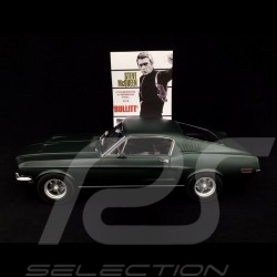 Ford Mustang Fastback GT 1968 Bullit Grün satiniert 1/12 Norev 122702