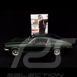 Ford Mustang Fastback GT 1968 Bullit Vert satin 1/12 Norev 122702 green grun