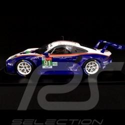 Porsche 911 RSR type 991 24h du Mans 2018 n° 91 Style Rothmans 70 ans Porsche 1/12 Spark 12S011