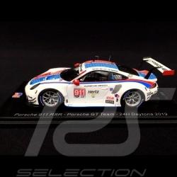 Porsche 911 RSR type 991 24h Daytona 2019 n° 911 Style Brumos 1/43 Spark US073