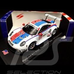 Porsche 911 RSR type 991 24h Daytona 2019 n° 911 Brumos design 1/43 Spark US073
