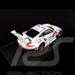 Porsche 911 GT3 RSR type 991 Winner Petit Le Mans 2018 n° 911 Porsche GT Team 1/64 Spark Y135