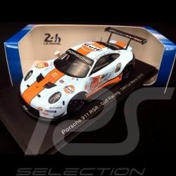 Porsche 911 RSR type 991 24h du Mans 2019 n° 86 Gulf Racing 1/43 Spark S7946
