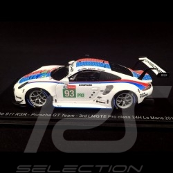 Porsche 911 RSR type 991 24h Daytona 2019 n° 912 Style Brumos 1/43 Spark US072