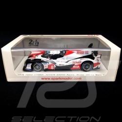 Toyota TS050 Hybrid winner 24h du Mans 2019 n° 8 Gazoo Racing 1/43 Spark 43LM19