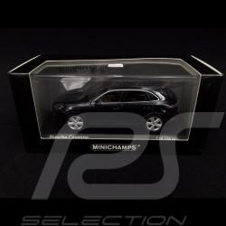 Porsche Cayenne 2017 Moonlight blue 1/43 Minichamps 410066300