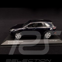 Porsche Cayenne 2017 Moonlight blue 1/43 Minichamps 410066300