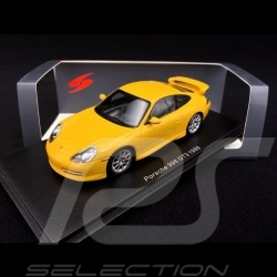 Porsche 911 type 996 GT3 1999 Racing yellow 1/43 Spark S4942