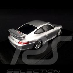 Porsche 911 type 996 GT3 1999 Silver grey metallic 1/43 Spark S4943