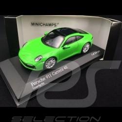 Porsche 911 type 992 Carrera 4S 2019 lizard green 1/43 Minichamps 410069322