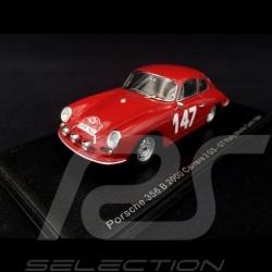 Porsche 356B 2000 Carrera 2 GT n° 147 Rallye Monte Carlo 1964 1/43  Spark S6600
