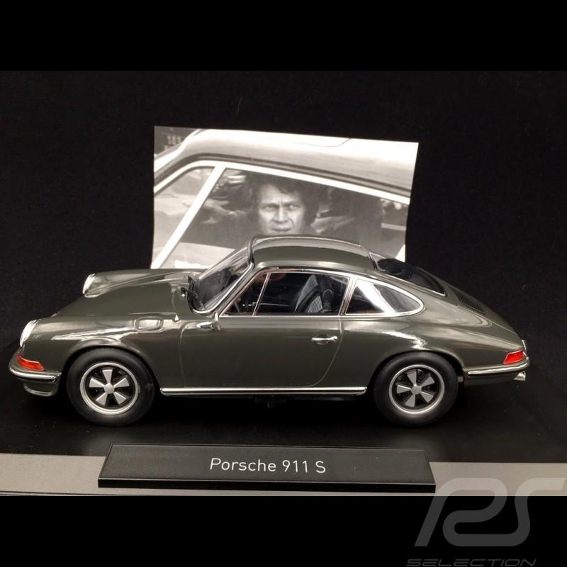 Porsche 911 S Steve Mc Queen / Film Le mans 1971 1/18 Norev 187635