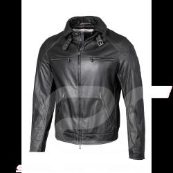 Mercedes AMG leather jacket Heinz Bauer Black Mercedes-Benz B66958641- men