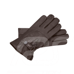Mercedes Classic Driving gloves Brown leather Mercedes-Benz B66041666 - men