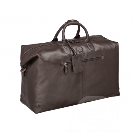 Mercedes Classic Travel bag Brown Leather Mercedes-Benz B66042011