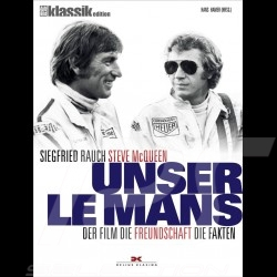 Buch Unser Le Mans - Siegfried Rauch. Steve McQueen