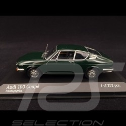 Audi 100 Coupé 1969 emerald green 1/43 Minichamps 430019129