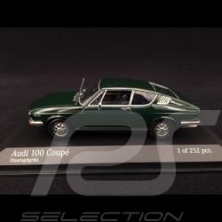 Audi 100 Coupé 1969 vert émeraude 1/43 Minichamps 430019129 emerald green Smaragdgrün