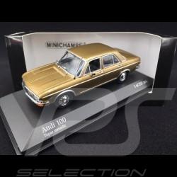 Audi 100 1969 topas 1/43 Minichamps 430019160
