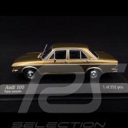 Audi 100 1969 topaz 1/43 Minichamps 430019160