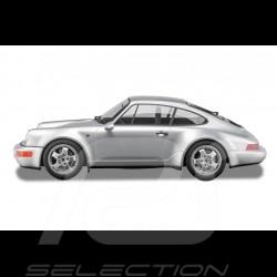 "Porsche 911 type 964 Carrera 4 "" 30 ans Porsche 911 "" 1993 Gris polaire 1/8 Minichamps 800656001"