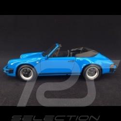 Porsche 911 Carrera Cabriolet 1983 riviera blue 1/18 Minichamps 100063032