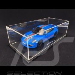 Porsche 991 Carrera S Edition Martini blue 1/18 Spark WAX02100001