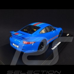 Porsche 991 Carrera S Edition Martini bleu blue blau 1/18 Spark WAX02100001
